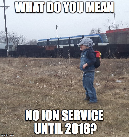 What do you mean no ION service until 2018?