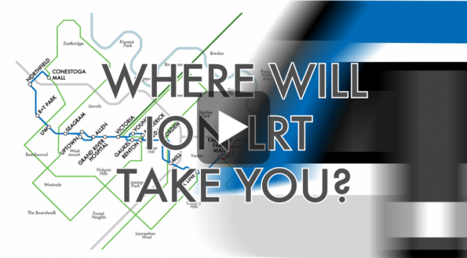 Where Will ION LRT Take You Video