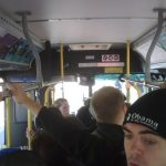 An Overcrowded Route 12 Conestoga Mall Bus - 11:30am