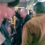 An Overcrowded Route 7 bus travelling from Uptown to Downtown - 4:00pm