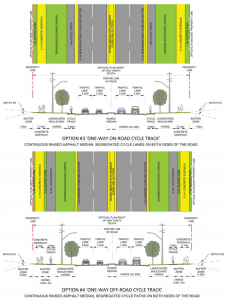 Two cycle track options for Fischer-Hallman