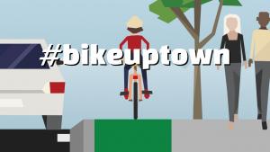 #bikeuptown